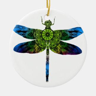 dragonflyk52017 ceramic ornament