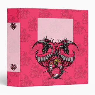 Dragonheart: Pink Smoke Vinyl Binders