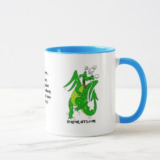 DragonLaffs.com- Laughing Dragon Mug