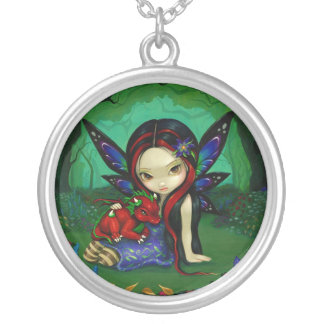 Dragonling Garden 1 NECKLACE dragon fairy