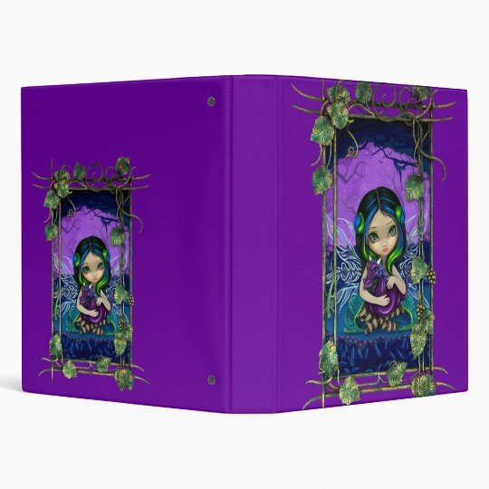 Dragonling Garden II gothic fairy dragon Binder