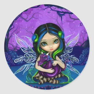 """Dragonling Garden II"" Sticker"