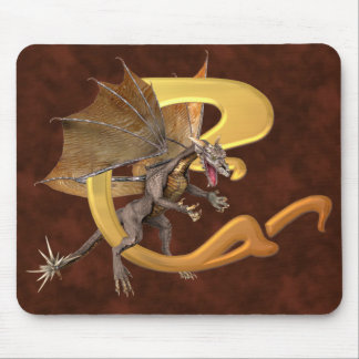 Dragonlore Initial C Mouse Pads
