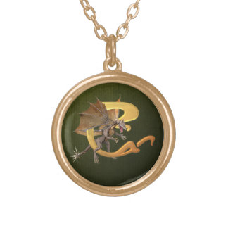Dragonlore Initial C Personalized Necklace