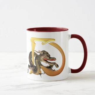 Dragonlore Initials D Mug