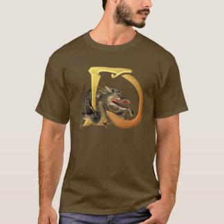 Dragonlore Initials D T-Shirt