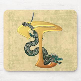 Dragonlore T initial Tapis De Souris