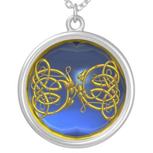 DRAGONLOVE , Blue Sapphire Custom Jewelry