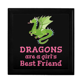 Dragons are a Girl's Best Friend Gift Box
