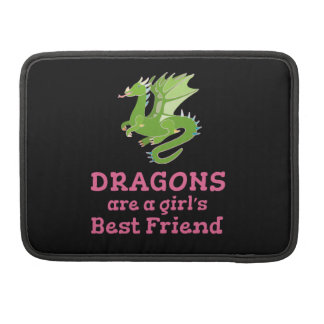 Dragons are a Girl's Best Friend Sleeve For MacBook Pro