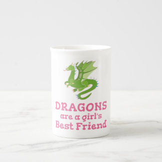 Dragons are a Girl's Best Friend Tea Cup