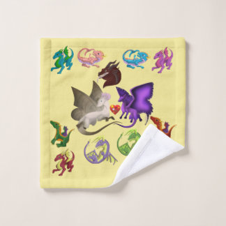 Dragons Bathroom Towel Set