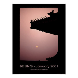 Dragons - Beijing 2001 Poster