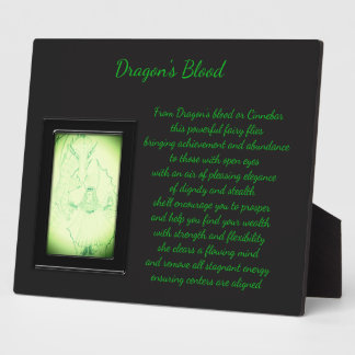 Dragon's Blood Crystal Fairy Plaque
