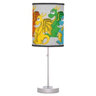 Dragons cartoon Lamp
