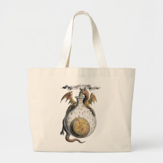 Dragon's Crucible Large Tote Bag