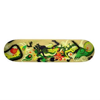 Dragons Den (Parchment) Skateboard Deck