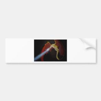 Dragon's Fight Back Bumper Sticker