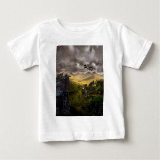 Dragons Fighting Baby T-Shirt