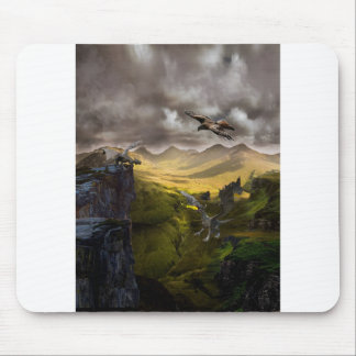 Dragons Fighting Mouse Pad