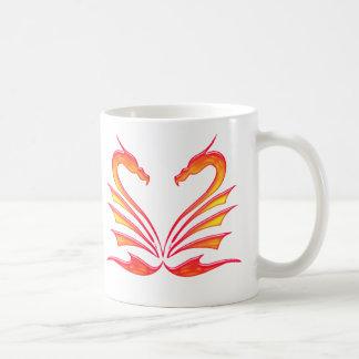 DRAGONS HEART COFFEE MUG