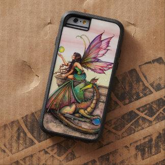 Dragon's Orbs Fairy and Dragon Fantasy Art Tough Xtreme iPhone 6 Case