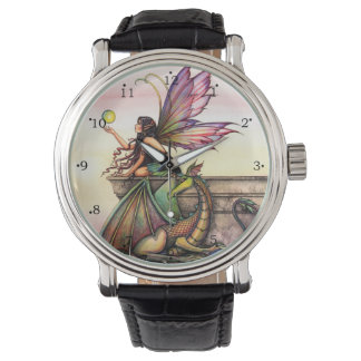 Dragon's Orbs Fairy and Dragon Fantasy Art Watch