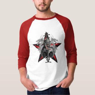 Dragons Tiger Skull Red Star T-shirt - Customized