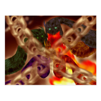 Dragon's Tomb Postcard