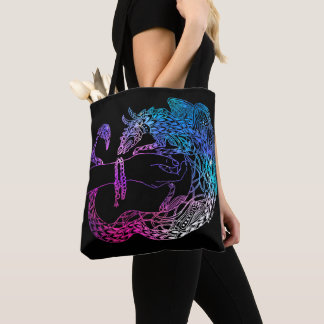 Dragons treasure tote bag