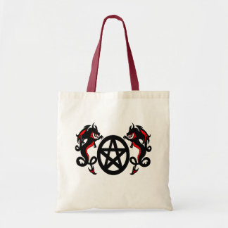 Dragons with Pentacle Bag