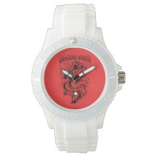 Dragons Wrath Black Wrist Watches