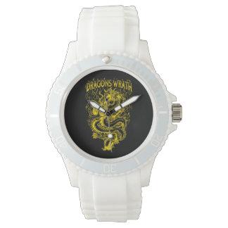 Dragons Wrath Yellow Wristwatch