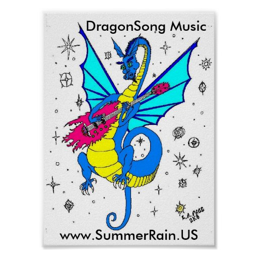 DragonSong Music Posters