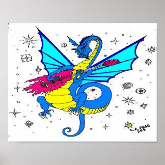 DragonSong No Logo Posters
