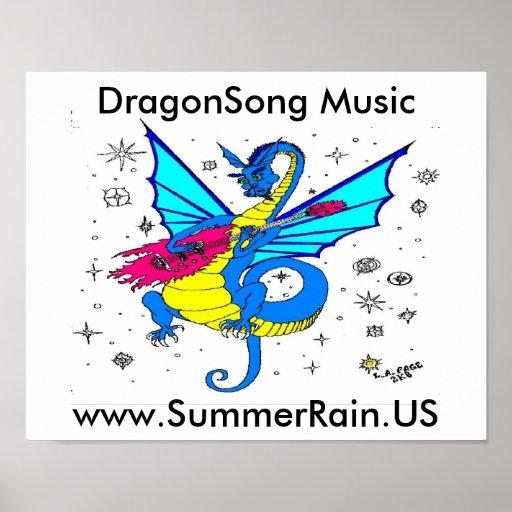 DragonSongLogoMainWide Poster