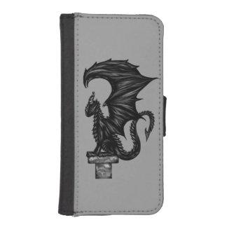 Dragonstatue iPhone SE/5/5s Wallet Case