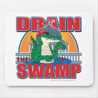 Drain The Swamp in Washington Mouse Pad