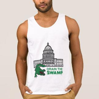 DRAIN THE SWAMP Tank Top