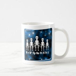 Drake Equation Alien Civilizations Formula Coffee Mug