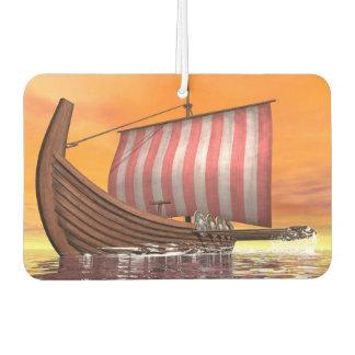 Drakkar or viking ship - 3D render Air Freshener
