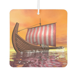 Drakkar or viking ship - 3D render Air Freshener