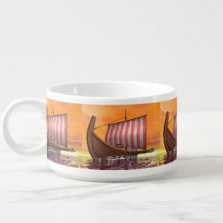Drakkar or viking ship - 3D render Bowl