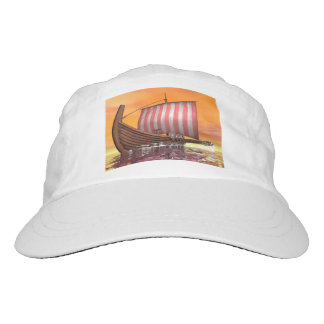 Drakkar or viking ship - 3D render Hat