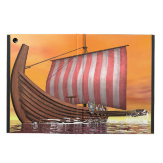 Drakkar or viking ship - 3D render iPad Air Cover