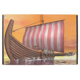 """Drakkar or viking ship - 3D render iPad Pro 12.9"""" Case"""