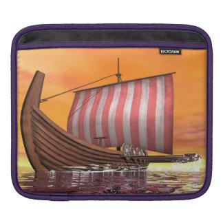 Drakkar or viking ship - 3D render iPad Sleeve