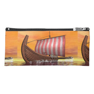 Drakkar or viking ship - 3D render Pencil Case