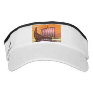 Drakkar or viking ship - 3D render Visor