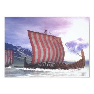 Drakkars - 3D render Card